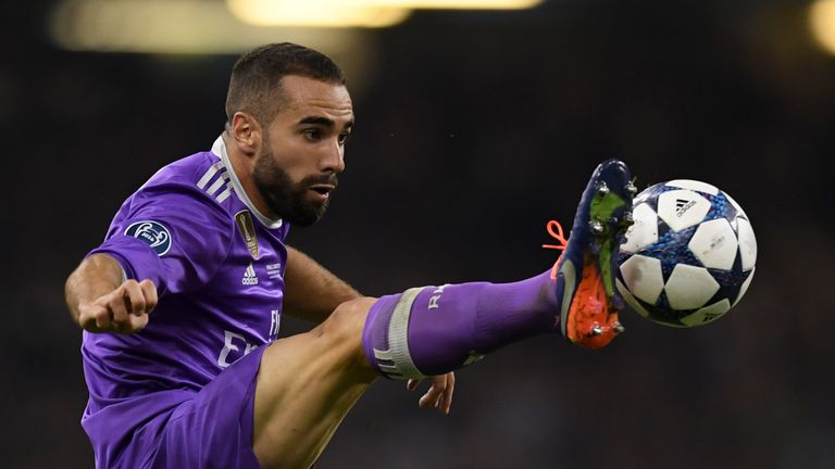 Real Madrid full-back Dani Carvajal diagnosed with problem ... on juan francisco moreno fuertes, jonathan soriano casas, pablo gil, pablo sarabia,