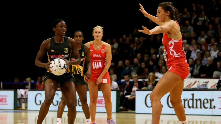 England beat New Zealand 64-57 in extra-time Quad Series thriller