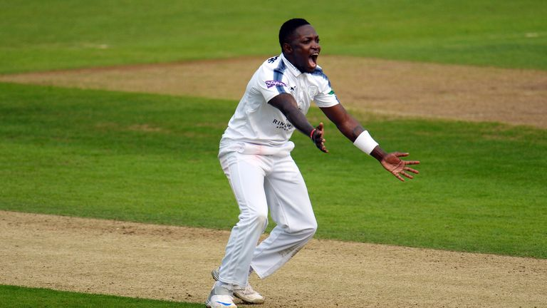 Fidel Edwards ensured Worcestershire slipped from 59-3 to 127 all out on day four at the Ageas Bowl