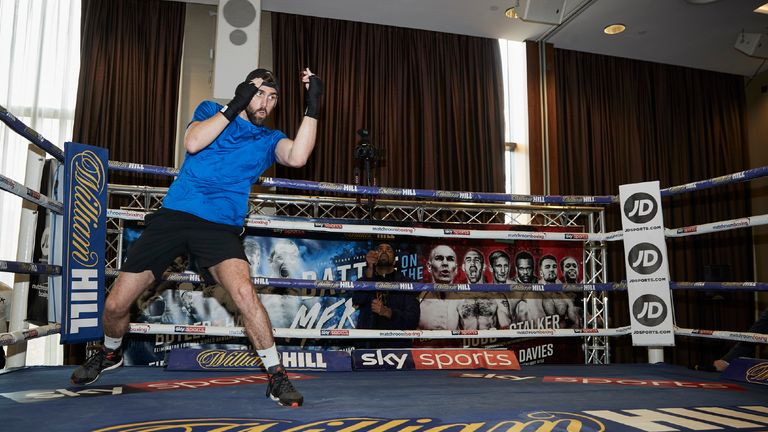 Rocky Fielding feels victory can put him in line to fight for a world title