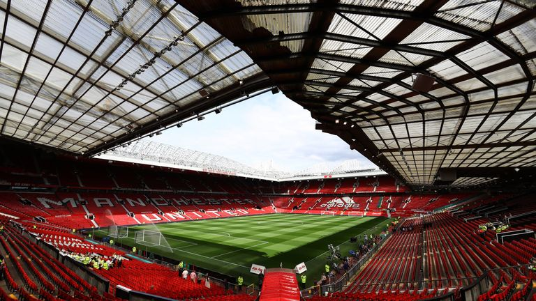 Manchester United are considering expanding their 76,000-capacity stadium