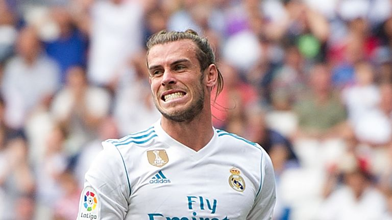 Gareth Bale is struggling with a calf problem that Zinedine Zidane has insisted is improving gradually