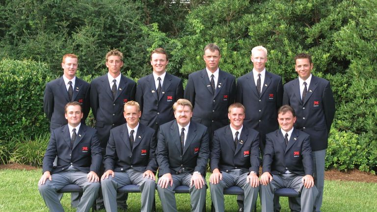 A number of the 2001 team would go on to be successful on the European Tour