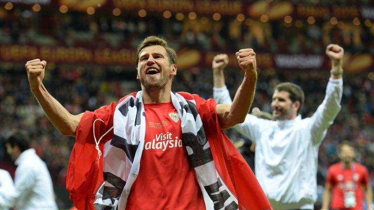 Grzegorz Krychowiak won two Europa League titles in two years at Sevilla