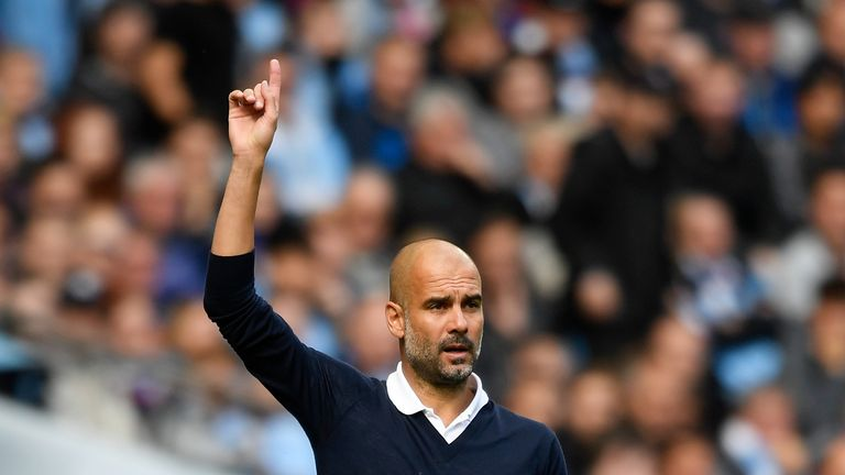 Pep Guardiola's City host Crystal Palace on Saturday