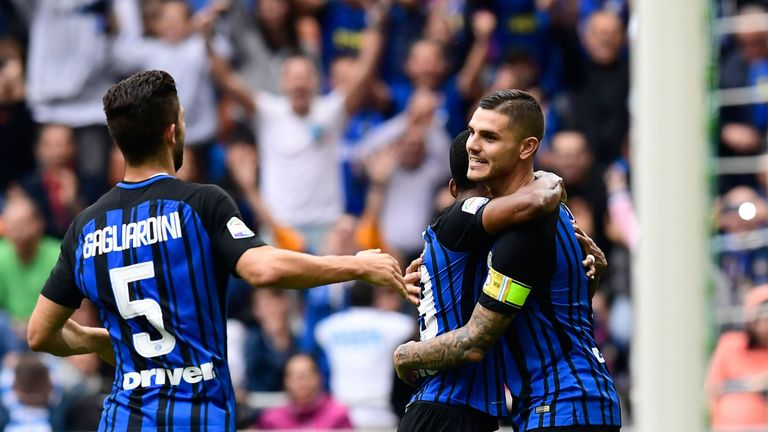 Mauro Icardi scored for Inter Milan