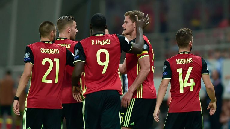 Belgium have already booked their place at Russia 2018