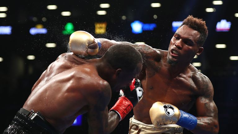 Jermell Charlo retained his WBC belt with knockout of Charles Hatley in April