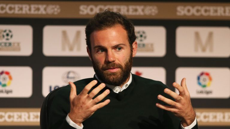 As of last month, Mata has been fronting the launch of charity 'Common Goal'