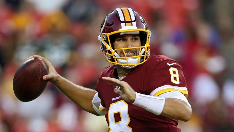 Might Sunday's game have been Kirk Cousins' last as quarterback of the Washington Redskins