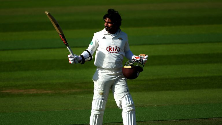Kumar Sangakkara's century was a continuation of his fine form this summer