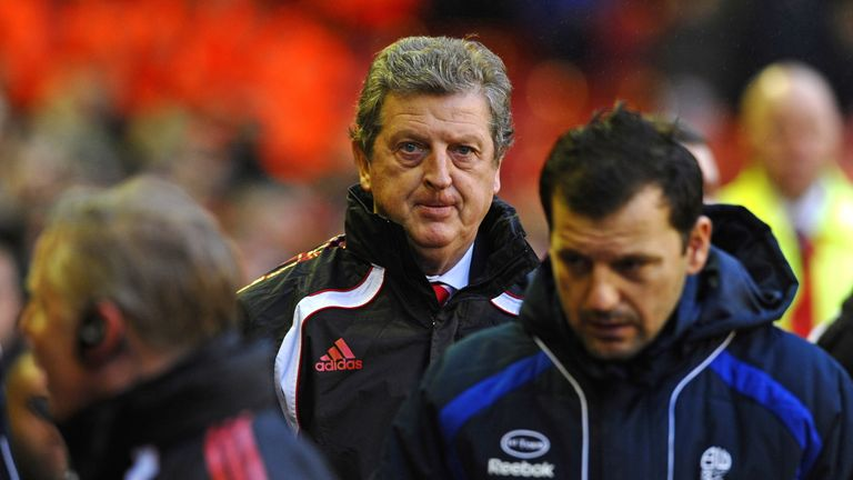 Liverpool supporters were unimpressed by Roy Hodgson