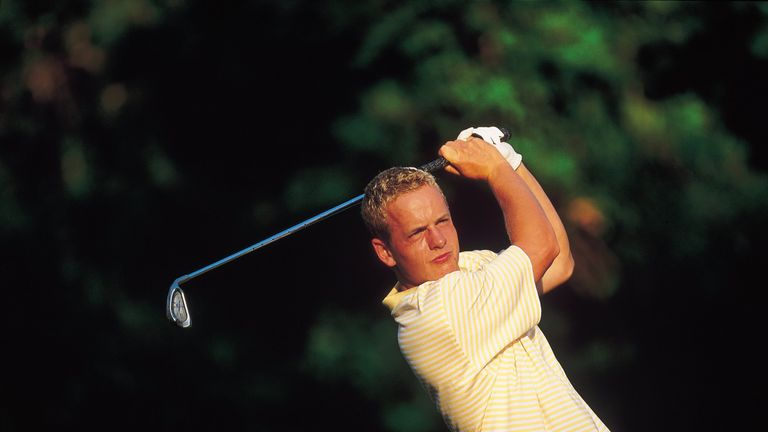 Luke Donald won three of his four matches for the visitors in 2001