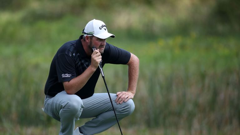 BMW Championship: Marc Leishman leads as Rory McIlroy slips off pace
