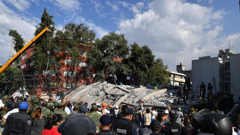 A 7.1 magnitude earthquake has left more than 200 people dead in Mexico