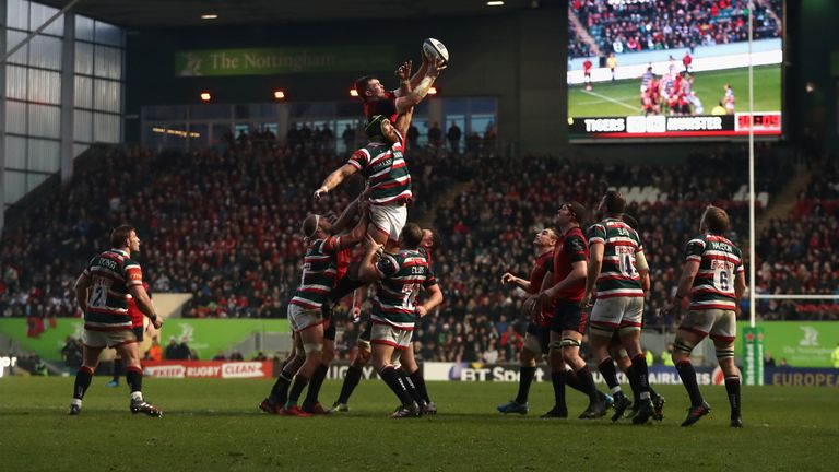 Leicester and Munster will lock horns in Europe for the third season in succession
