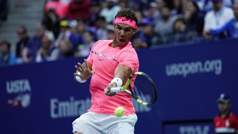 US Open: Nadal beats Lajovic in straight sets