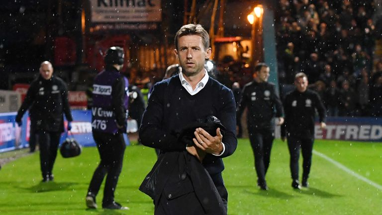 Dundee manager Neil Mc Cann could not fault the effort of his players