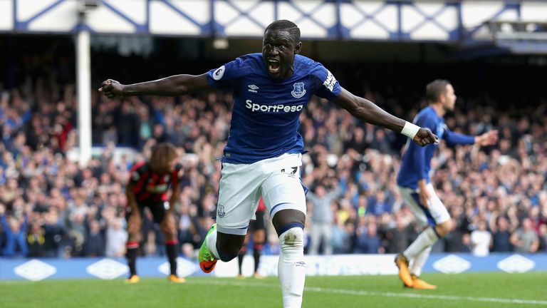 Oumar Niasse's double spared Everton's blushes against Bournemouth