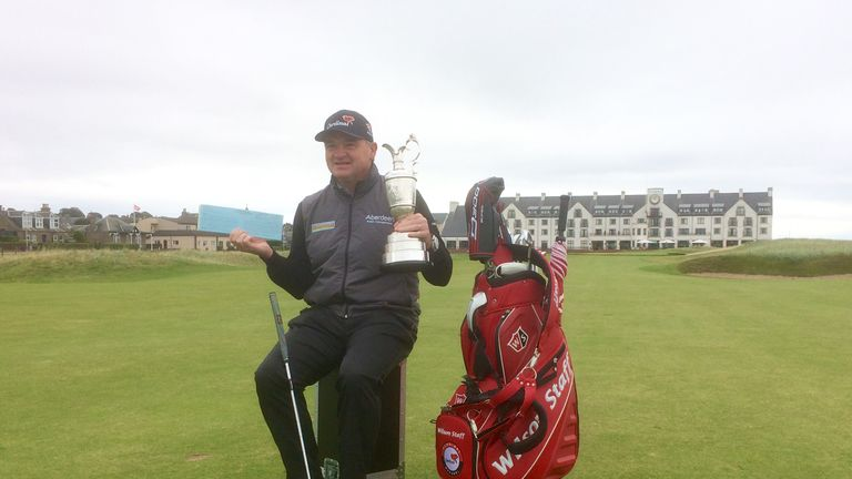 Lawrie is looking forward to the 2018 championship that will take place at Carnoustie