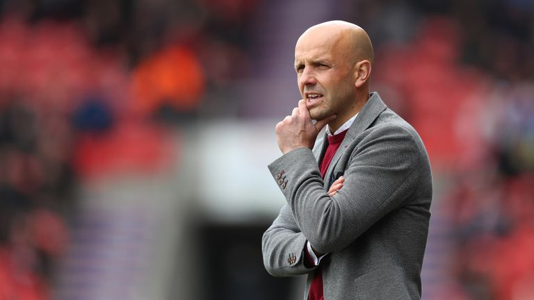 Paul Tisdale led Exeter back to the top of the Sky Bet League Two table