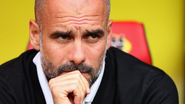 Guardiola says City will only be judged on winning silverware