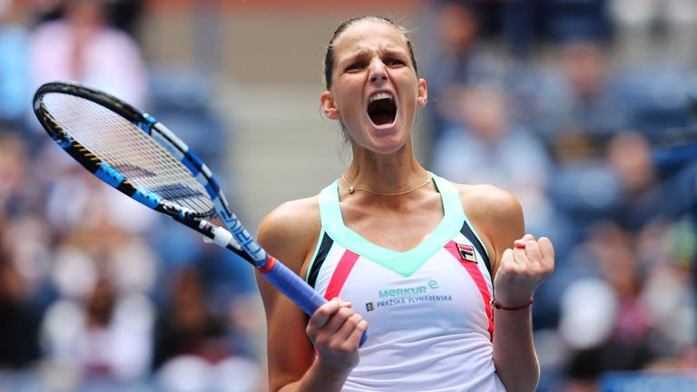 US Open 2017: Top seed Pliskova narrowly avoids second round upset