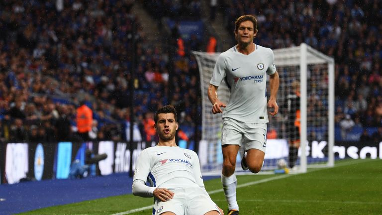 Alvaro Morata has made a fine start to his Chelsea career