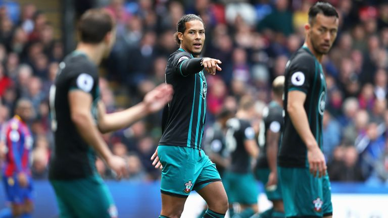 Virgil van Dijk made his first appearances in the senior side since January on Saturday