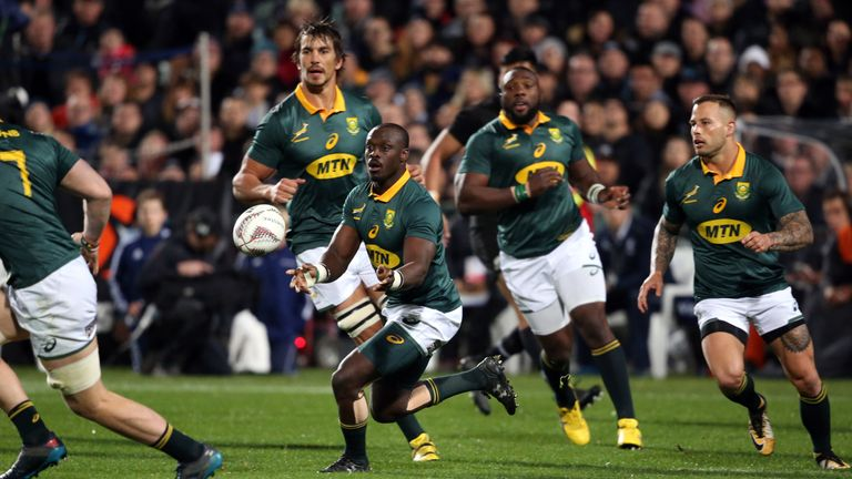 Springboks Rhule dropped after coach u-turn