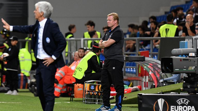 Ronald Koeman is refusing to panic despite Everton's poor start to the season