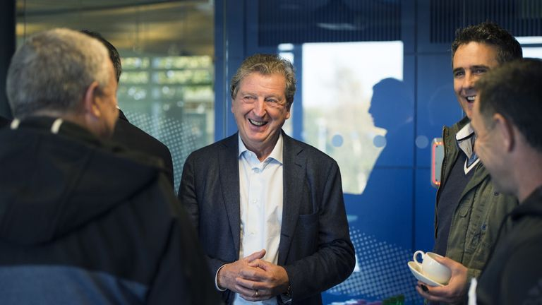 Hodgson's last job in club management was with West Brom in 2012