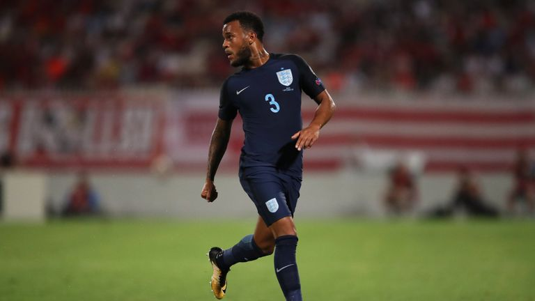 Ryan Bertrand will miss England's friendlies against the Netherlands and Italy