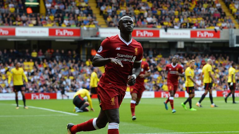 Sadio Mane has been ruled out for six weeks