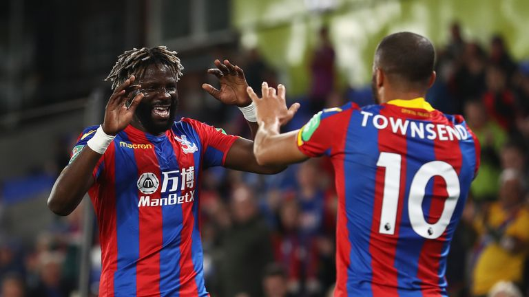 Bakary Sako scored the first goal of Roy Hodgson's reign at Crystal Palace