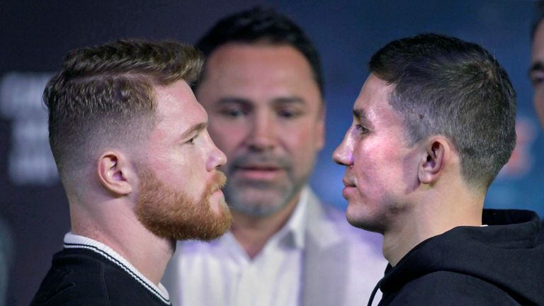 Saul 'Canelo' Alvarez faces Gennady Golovkin this weekend in a long-awaited world title fight