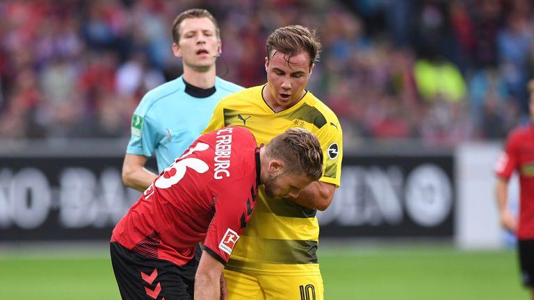 Borussia Dortmund captain Marcel Schmelzer ruptured his ankle ligaments last weekend