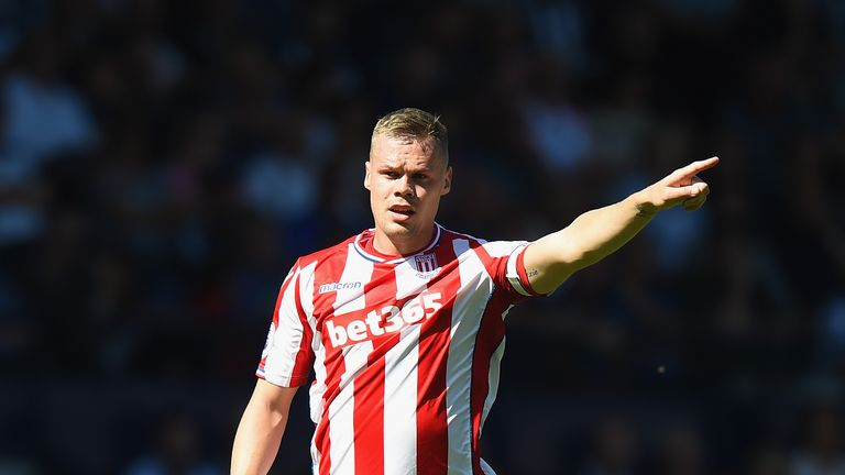 Ryan Shawcross remains sidelined