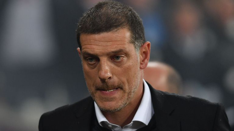 Slaven Bilic remains under pressure at West Ham