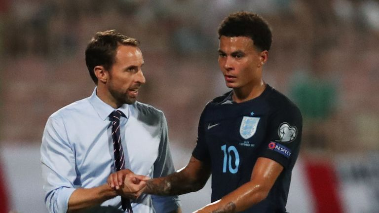 Southgate agrees with suspension for Tottenham star Alli