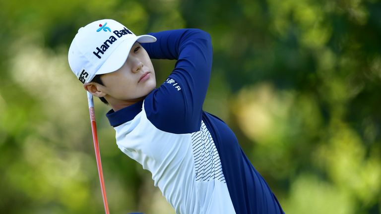 Lydia Ko makes solid start at the Evian Championship