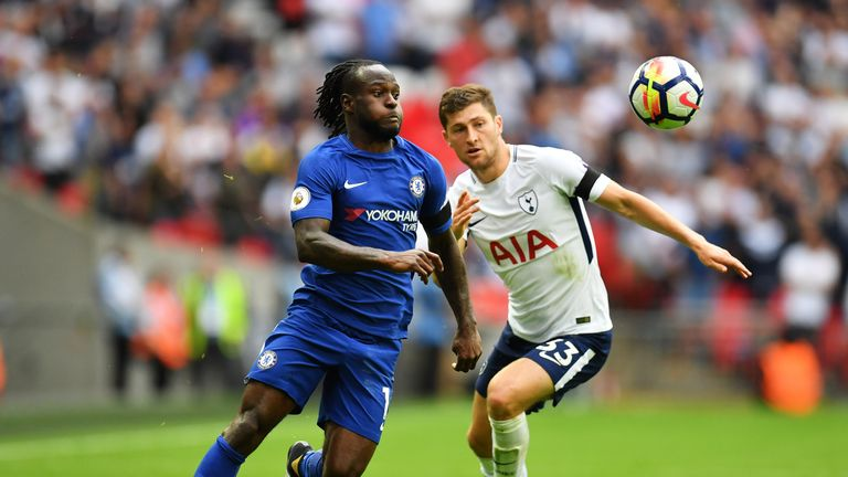 Victor Moses has resurrected his Chelsea career under Conte