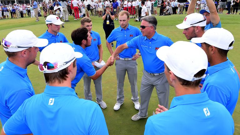 Captain Andy Ingram was proud of his players in Walker Cup defeat