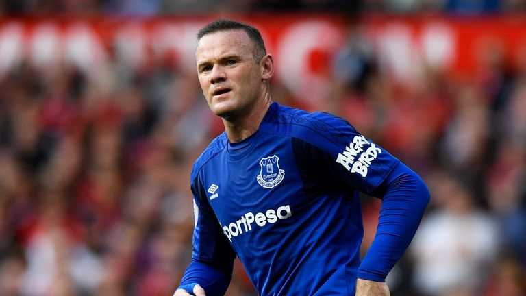 Wayne Rooney played a full part in Everton's training session ahead of their Europa League match against Apollon Limassol