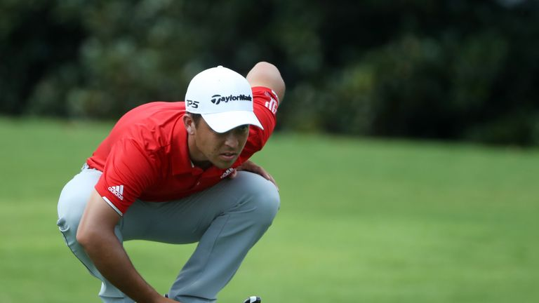 Xander Schauffele is bidding to cap a superb rookie season with a victory