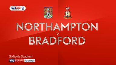 Northampton 0-1 Bradford