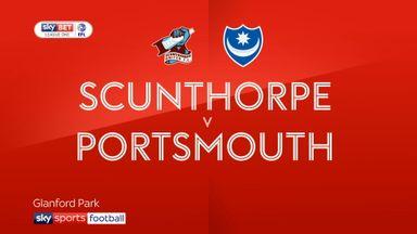 Scunthorpe 2-0 Portsmouth