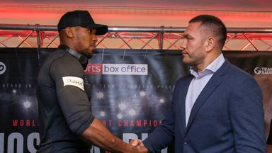 Anthony Joshua and Kubrat Pulev were due to fight on October 28