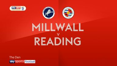 Millwall 2-1 Reading