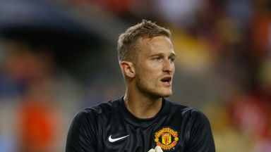 Anders Lindegaard has joined Burnley on a deal until the end of the season